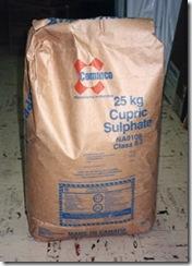 bag CuSO4